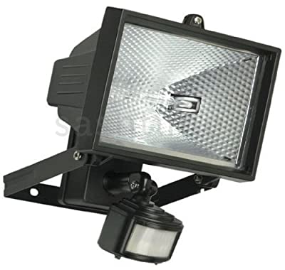 500w Halogen Floodlight Security Light With Motion Pir Sensor