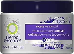 Herbal Essences Tousle Me Softly Finishing Touch Cream Hair Care 7.6 Fl Oz (Pack of 3)