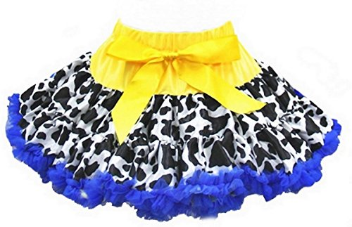 Cowgirl Pettiskirt Small Royal Blue (Cowgirl Jessie)