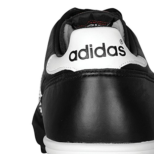 adidas Mundial Team, Herren Fußballschuhe, Schwarz (Black/Running White Ftw/Red), 43 1/3 EU (9 Herren UK) -