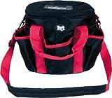 Putztasche, Putzzeugtasche, in verschiedenen Farben (schwarz-rot)