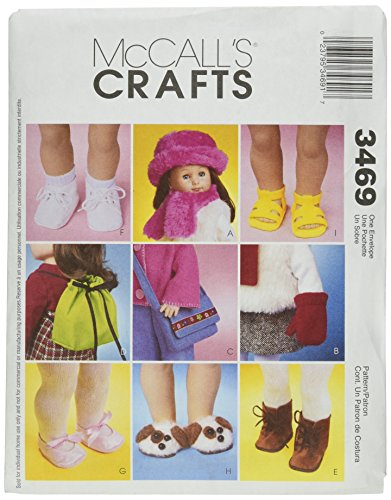 McCall's Patterns 18-Inch Doll Accessories