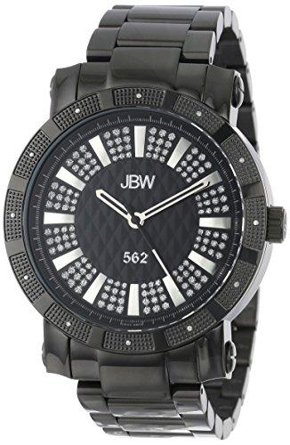 JBW JB-6225-D - Reloj de pulsera hombre, acero inoxidable