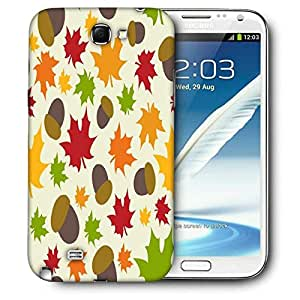 Snoogg Cherries Printed Protective Phone Back Case Cover For Samsung Galaxy Note 2 / Note II