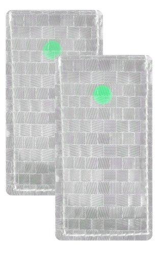 Brite Strike Apals-Air Aa-Green-2 All Purpose Adhesive Light Strip, 2-Pack In Green