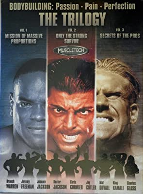 Bodybuilding: Passion Pain Perfection The Trilogy DVD Set