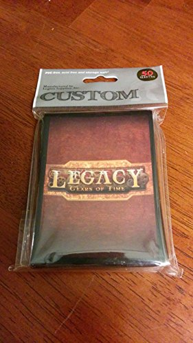 Custom Card Sleeves - Legacy: Gears of Time