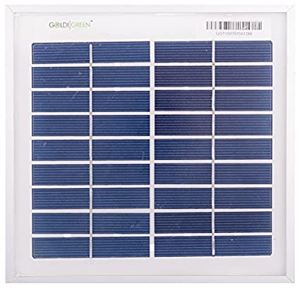 Goldi Green 3W Silicon Solar Panel
