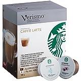 STARBUCKS VERISMO by STARBUCKS Caffe Latte Pod Pack, 12 Count