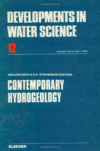 Contemporary hydrogeology, Volume 12: The George Burke Maxey memorial volume (Developments in Water Science)