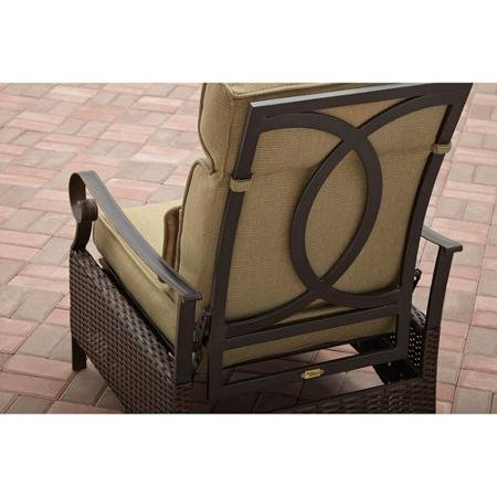 Better Homes And Gardens Riverwood Recliner Chair Cushions With Lumbar Pillow Powder Coating