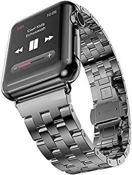Oittm 42mm Classic Metal iWatch Wristband