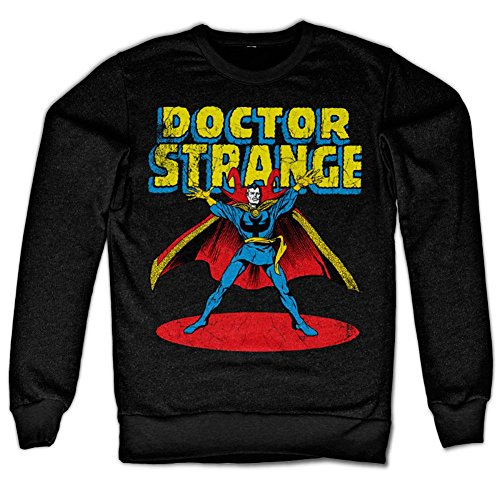 Marvels Doctor Strange Sweatshirt (Black), Medium