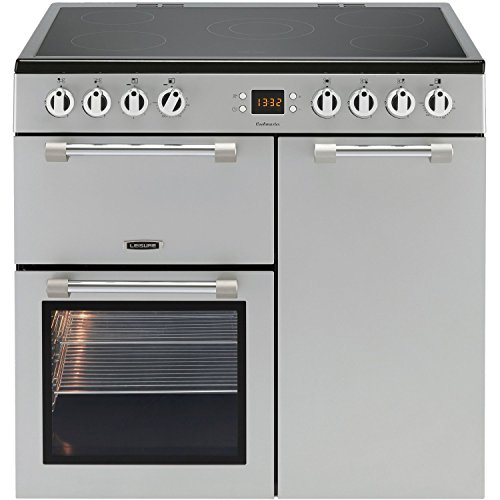 Leisure CK90C230S Cookmaster Silver 90cm Electric Range Cooker With Ceramic Hob