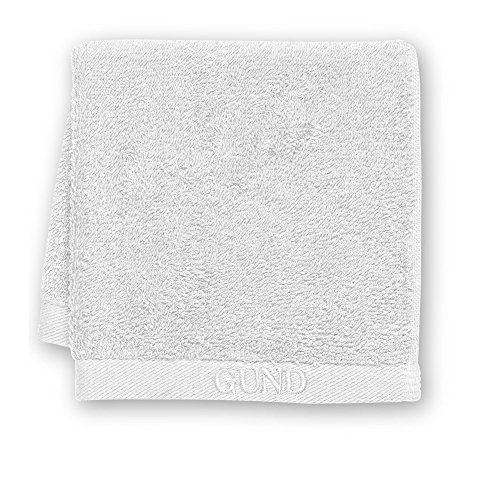 GUND Bear Essential Ringspun Face Towel, Marshmallow, 12'' By 12'' - 1