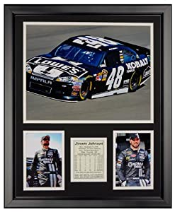 Art of Hollywood, Jimmie Johnson Framed Photo Presentation - 18 x 22 Inch Size by Art of Hollywood