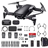 DJI Mavic Air Fly More Combo 2018 Version Starter Bundle (Onyx Black)