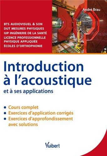 introduction-a-lacoustique-et-a-ses-applications-cours-et-exercices-corriges