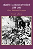 img - for England's Glorious Revolution 1688-1689: A Brief History with Documents (Bedford Cultural Editions Series) book / textbook / text book