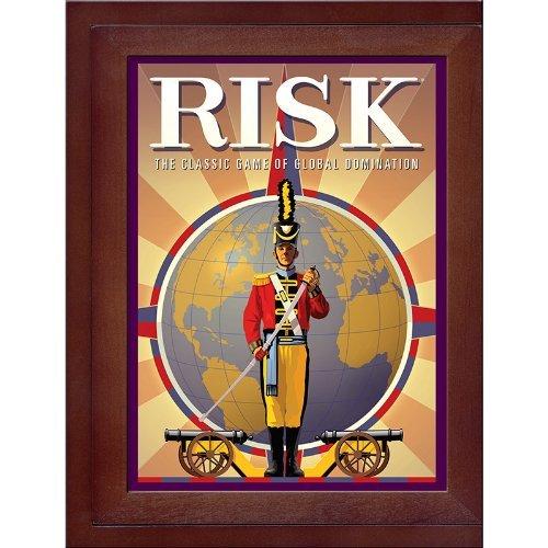 Hasbro Risk en la edición Vintage Book de madera