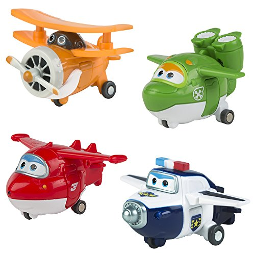 ColorBaby - Super Ailes YW710610 - Figures Transformables. Blister 4 caractères.