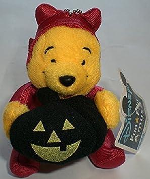 Winnie the Pooh Halloween Style Key Chain Strap mascot About10cm Disney