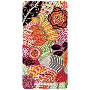 Design Worlds - Gionee Marathon M5 Designer Back Cover Case - Multicolor Ph...