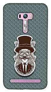 Print Haat Back Case Cover for Zenfone 2 Selfie (Multicolor)
