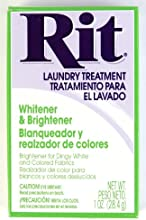 Rit Dye Laundry Treatment Whitener and Brightener Powder 1 oz 3-Pack