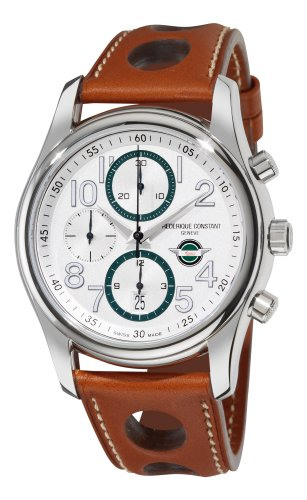 Frederique Constant Men's FC-392HSDG6B6 Healey automatic Silver Chronograph Dial Watch