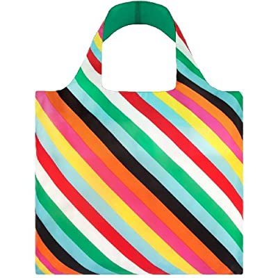 LOQI Pop Collection Pouch Reusable Bags, Multicolored, Set of 4
