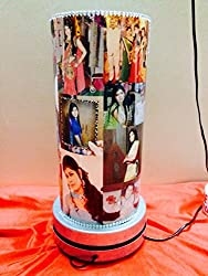 Awwsme 17 inches Rotating Personalize Photo Lamp for Valentine Day
