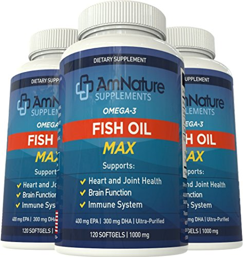 Fish oil max rich in omega 3 fatty acids with recommended for Fish oil recommendations