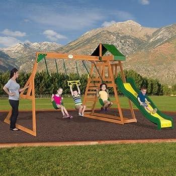 Backyard Discovery Prescott Cedar Swing Set