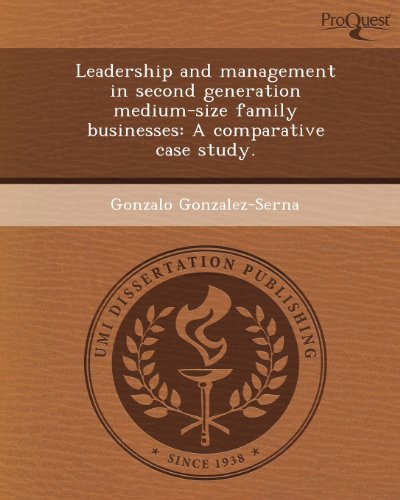 Leadership and management in second generation