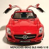 メルセデスベンツ SLS AMG 1:18(レッド)【モンドモータース】