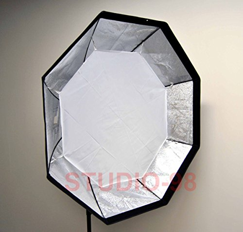 "Alien Bees B800 Lighting Kit: Studio-98 48"" (120cm) Octagon Recessed Softbox And"