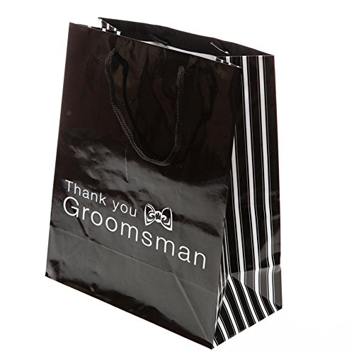 """Thank You Groomsman"" Gift Bags"