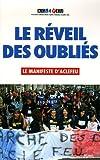echange, troc Collectif Aclefeu - Le réveil des oubliés : Le manifeste d'ACLEFEU