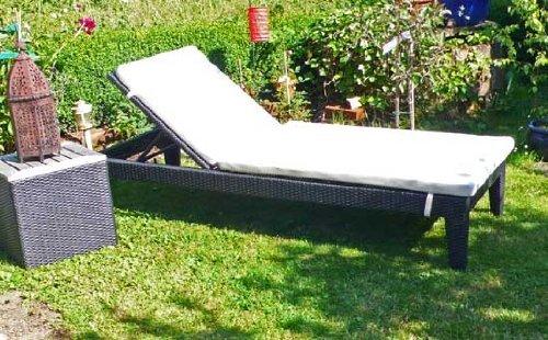 Just relax Top PolyRattan Design Garten Liege Sonnenliege SUPERGUT & günstig günstig bestellen