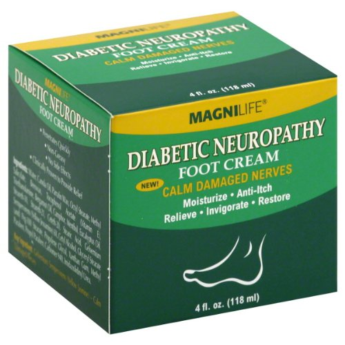 MagniLife Diabetic Neuropathy Foot Cream 4 fl oz (118 ml)