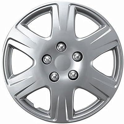 "1 Piece Toyota Corolla 15"" 2005 2006 2007 Oem Abs Plastic Wheel Cover Hub Cap Hubcap Universal Fit"