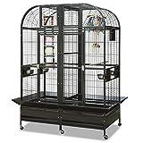 Papageienkäfig mit Trennwand XXL Chicago - in Antik Käfig, Voliere für Papageien