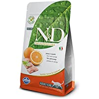 Farmina N&D Grain Free Fish And Orange Adult Cat Food - 5 Kgs
