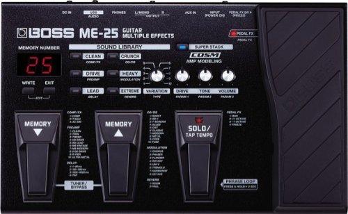 Boss ME25 Guitar Multi Effect Pedal