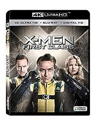 X-men: First Class 4k Ultra Hd [Blu-ray]