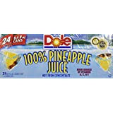 Dole 100% Pineapple Juice 8.4oz 24 Count