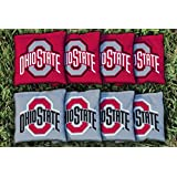 Ohio State OSU Buckeyes Replacement Cornhole Bag Set (corn filled)