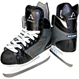 American Athletic Shoe Mens Ice Force Hockey Skates by American Athletic