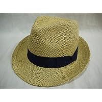 (カスターノ)CASTANO 天然 帽子 ハット 男女兼用 メンズ レディース/ 132206 /麦わら 中折 チロル カジュアル 涼しい 軽量 春夏